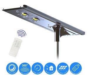 Earthtech Products 60 Watt LED Ultra High Powered Solar Street Light - 6000 Lumens