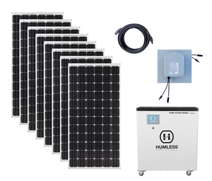 Earthtech Products 6 5 kWh Solar Generator Kit with 2,640 Watts of
