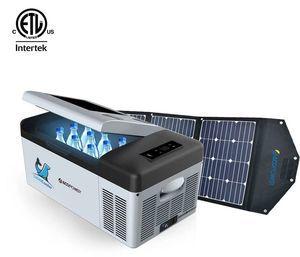 Lioncooler x15A Portable Fridge/Freezer Solar Panel Kit