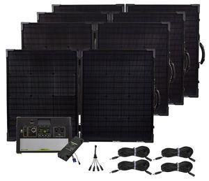 Goal Zero Yeti 1000 Lithium Portable Maximum Solar Intake Generator Kit