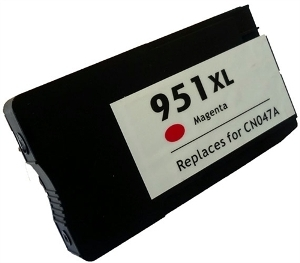 HP CN047AN #951XL Compatible Inkjet Cartridge (1500 page yield) - Magenta