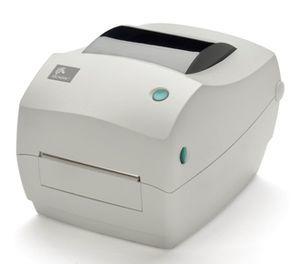 Zebra GC420 Desktop Label Printer with Thermal Transfer Print Mode, Dispenser (Peel)