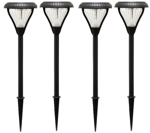 Premier Solar Pathway Lights - 4 Pack