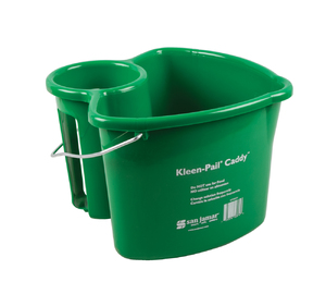 Kleen-Pail Caddy w/o Spray Bottle - Green