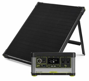 Goal Zero Yeti 500X Portable Power Station and Boulder 50 Solar Kit