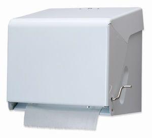 Crank Paper Towel Dispenser - White