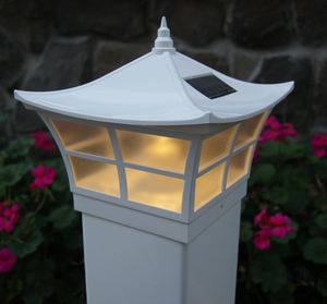 Ambience Solar Post Cap Light for 4x4 or 5x5 Posts
