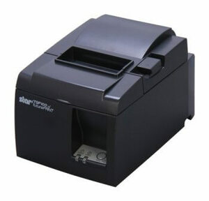 Star Micronics TSP143ugt Blk Us, Thermal Printer, Cutter, USB, Piano Black, European Power Supply and Cbl Included
