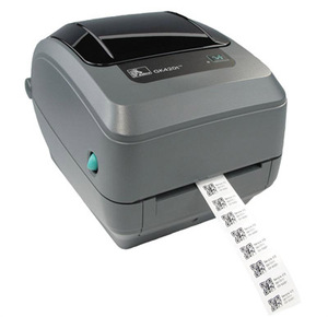 Zebra GK420 Desktop Label Printer with Thermal Transfer Print Mode, Dispenser (Peeler)