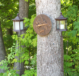 Solar Flickering Candle Torch - Pole Lantern