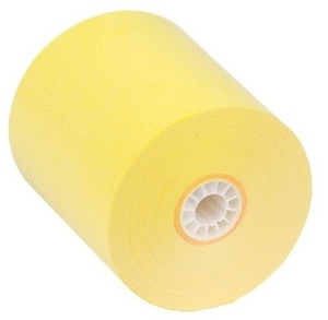 "3 1/8"" x 230'  (80mm x 70m)  Thermal Paper  (50 rolls/case) - Canary"