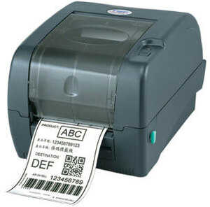 TSC TTP-345 Thermal Transfer Printer, 300 dpi, 5 ips, 3 ports - USB, Parallel, Serial