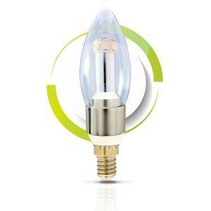 GS Solar LED Light Bulb - C37 Warm White 2700K