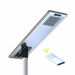 Earthtech Products 40 Watt LED Ultra High Powered Solar Street Light - 6400 Lumens