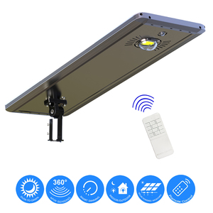 Earthtech Products 40 Watt LED Ultra High Powered Solar Street Light - 4000 Lumens