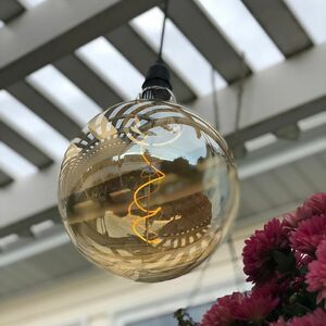 Oversized Globe Battery Operated Vintage LED Light