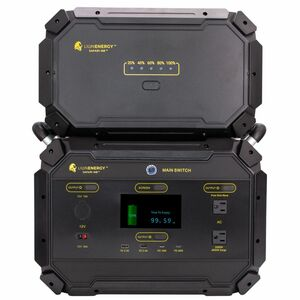 Lion Energy Safari ME Portable Power Station & Expansion Battery Pack
