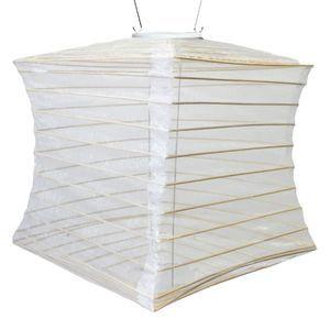 Silk Effects Pearl Solar Lantern - Square