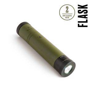 VSSL Flask - Waterproof LED Flashlight - Green