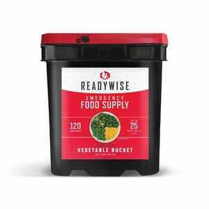 Wise Company 120 Serving Freeze Dried Vegetable Bucket