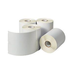 """4"""" x 6"""" Die Cut 5 Mil White Matte Inkjet Labels (8 Rolls)"""