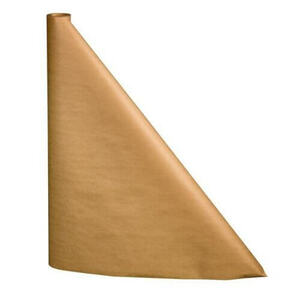 "40"" x 100'  Paper Table Cover (1 roll) - Plain Brown Kraft"