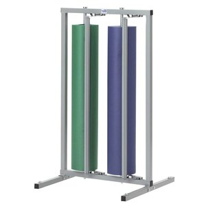 "48"" Double Roll Vertical Paper Rack"