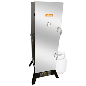 "48"" Gas Smoker (Powder Coated Black)"