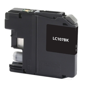 Brother LC107BK Compatible Inkjet Cartridge (1200 page yield) - Black