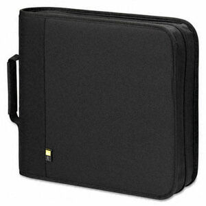 Caselogic CD/DVD Expandable Binder, Holds 208 Disks, Black