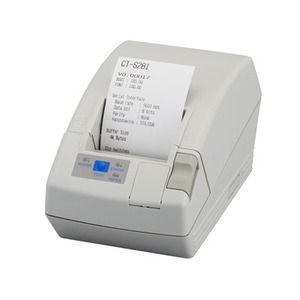 Citizen CT-S281, Thermal POS Printer, 58mm-80mm / Sec, 32-48 Column, With Cutter, USB, Black