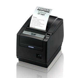 Citizen CT-S601, Thermal POS Printer, Parallel Interface, White, PNE Sensor
