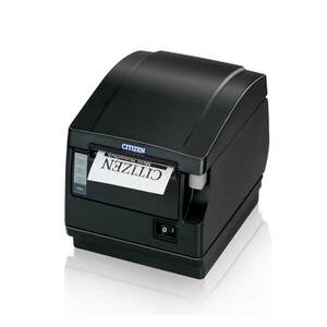 Citizen CT-S651, Thermal POS Printer, Front Exit, 200mm, Ethernet Interface, WiFi, Black, PNE Sensor