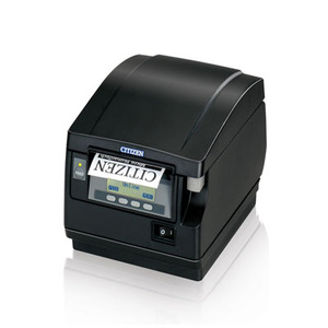 Citizen CT-S851, Thermal POS Printer, 300mm, Serial Interface, Black PNE Sensor
