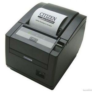 Citizen CT-S601, Thermal POS Printer, Serial Interface, Black, PNE Sensor