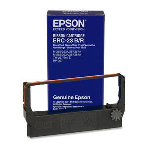 Epson ERC 23 & Verifone 250/500 Printer Ribbons (6 per box)