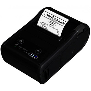 Epson TM-P60II, Mobile Label Printer, Bluetooth 2.1 + Edr, Epson Black, Battery, Belt Clip, USB Cable, Requires PS-11 or Ot-Ch60II To Be Charged