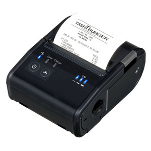 Epson TM-P80 Plus, Wireless Receipt Printer With Autocutter, 3 Inch, Bluetooth, Nfc, Epson Black, Battery, USB Cable, PS-11 Included