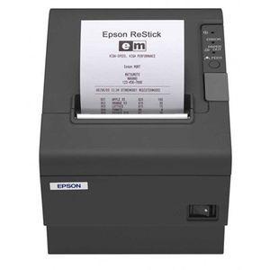 Epson TM-T88V-DT Omnilink, Intelligent Thermal Receipt Printer, Epson Black, 16 GB Hard Drive, Windows Posready7, Atom N2800, 1.8 Ghz, 4 GB, Power Supply Included