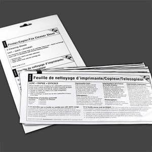 "EZ Printer / Copier / Fax Cleaner Sheet (8.5"" x 11"") (5 / Env)"