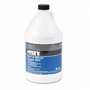 Misty Glass & Mirror Cleaner w/Ammonia, 1 gal. Bottle