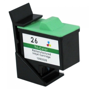 Lexmark 10N0026 #26 Compatible Inkjet Cartridge (275 page yield) - Color