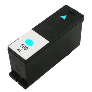 Lexmark 14N1069 #100XL Compatible Inkjet Cartridge (600 page yield) - Cyan
