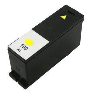 Lexmark 14N1071 #100XL Compatible Inkjet Cartridge (600 page yield) - Yellow