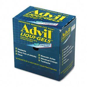 Advil Liqui-Gels, 50 Two-Packs/Box