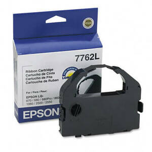 OEM Epson 7762L Printer Ribbons (1 per box) - Black