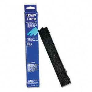 OEM Epson 8750/8755 Printer Ribbon ONLY (1 per box) - Black