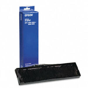OEM Epson 8766/8767 Printer Ribbon ONLY (1 per box) - Black