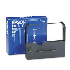 OEM Epson ERC 03, M220/M210 Printer Ribbons (1 per box) - Black