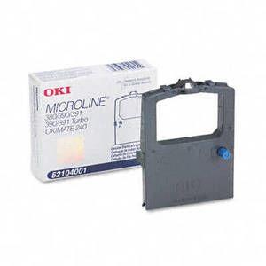 OEM Okidata ML 390/390T/391/391T Printer Ribbons (1 Ribbon) - Black